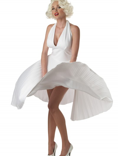 Marilyn Monroe Deluxe White Halter Dress buy now