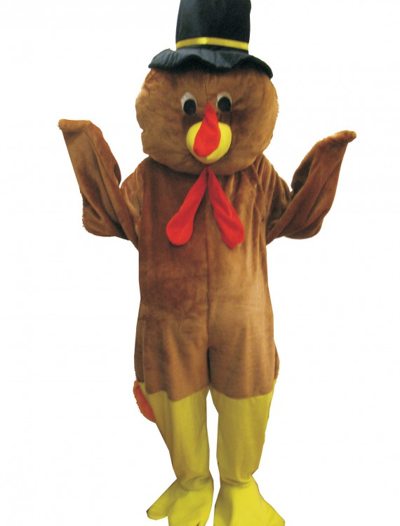 Mascot Thanksgiving Turkey Costume buy now