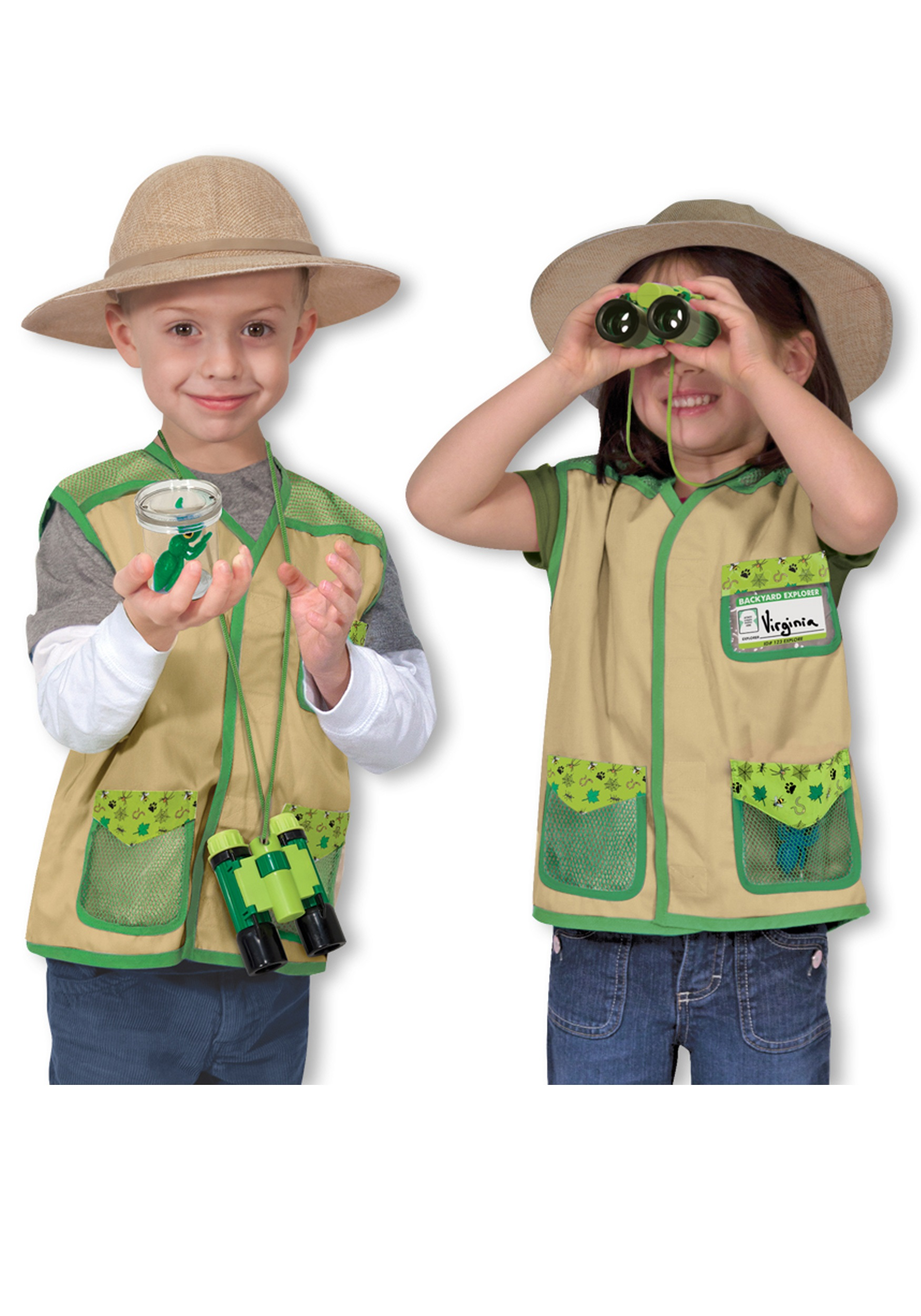 Melissa and Doug Backyard Explorer Costume  sc 1 st  Halloween Costumes & Melissa and Doug Backyard Explorer Costume - Halloween Costumes