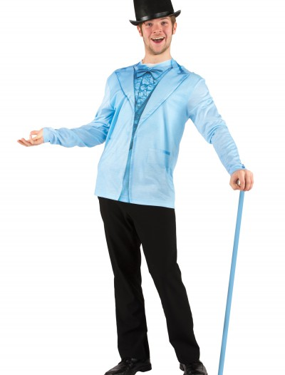Men's Blue Tuxedo Costume T-Shirt buy now
