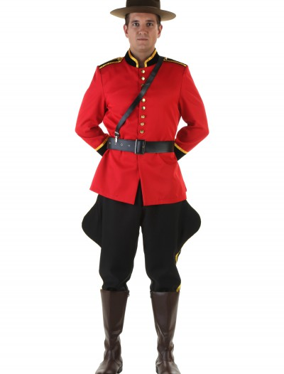 Men's Canadian Mountie Costume buy now