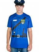 Mens Cop Costume T-Shirt buy now