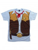 Mens Cowboy Costume T-Shirt buy now