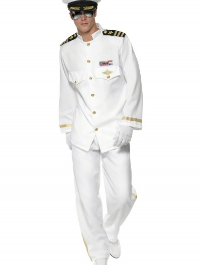 Mens Deluxe Captain Costume buy now