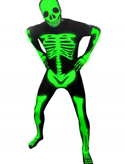 Mens Glow Skeleton Morphsuit buy now