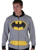 Mens Gray Batman Suit Hoodie buy now