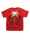 Mens Iron Man Costume Jumbo T-Shirt buy now
