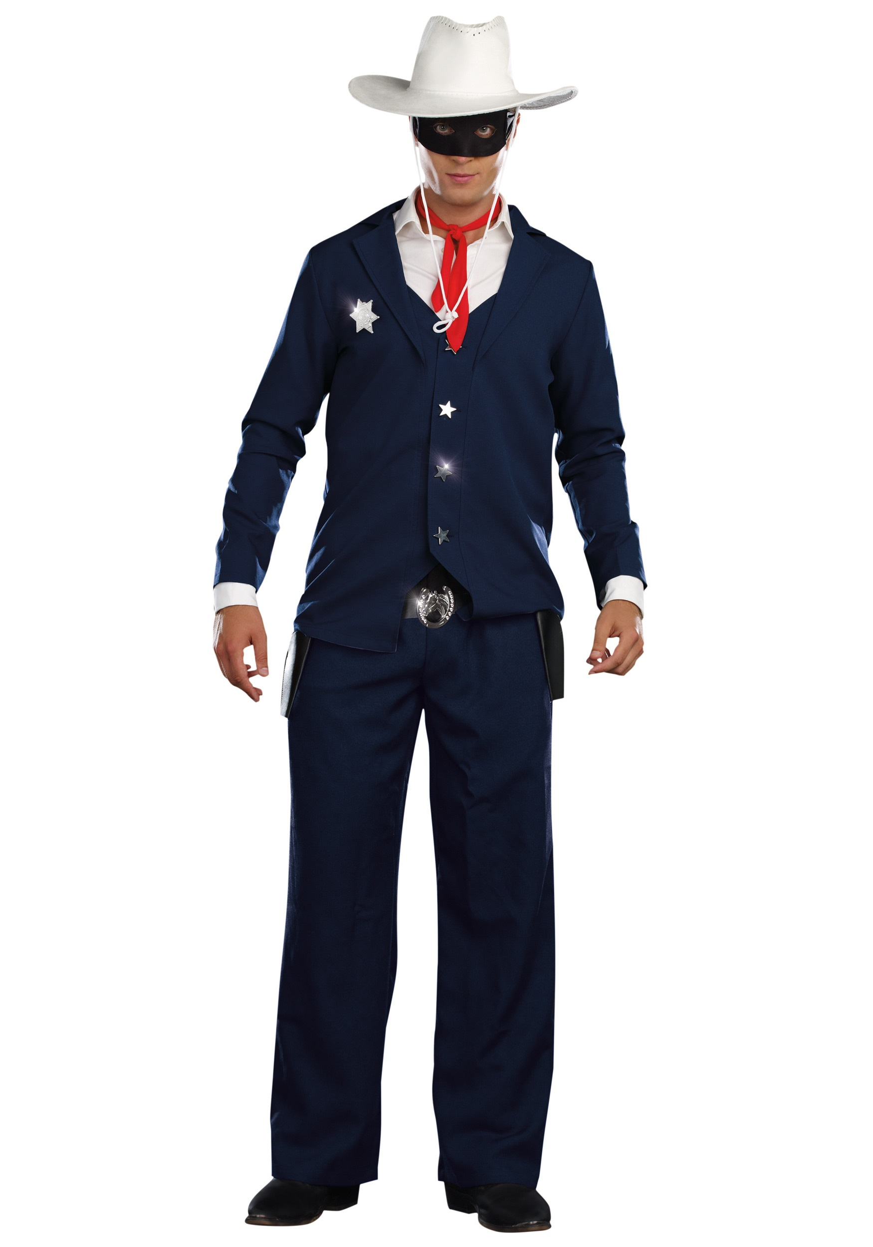 mens lone cowboy costume - halloween costumes