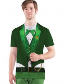 Mens Lucky Leprechaun Costume T-Shirt buy now