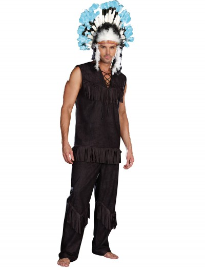 Men's Plus Size Indian Chief Costume buy now