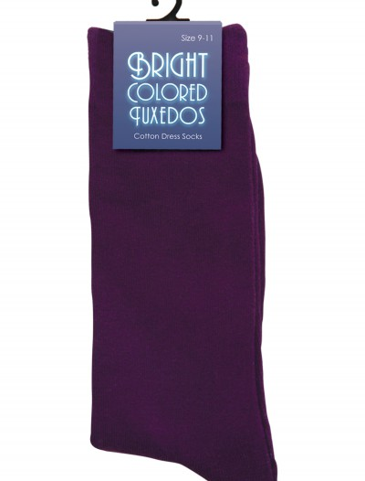 Men's Purple Socks buy now