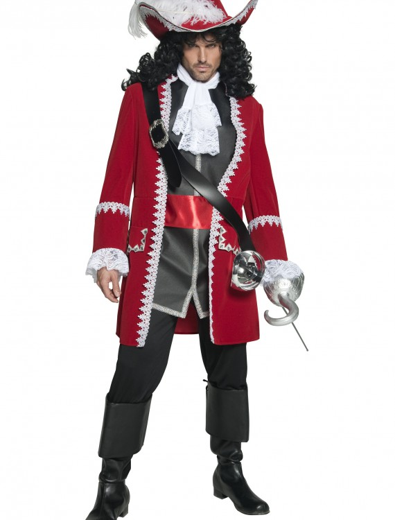 Mens Regal Pirate Captain Costume buy now