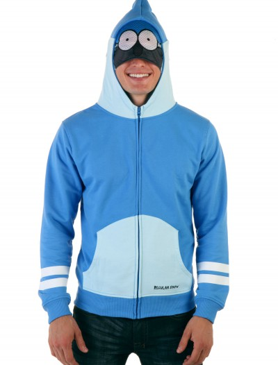 Mens Regular Show Mordecai Costume Hoodie buy now
