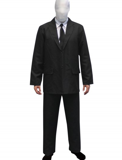 Mens Slenderman costume Morphsuit buy now