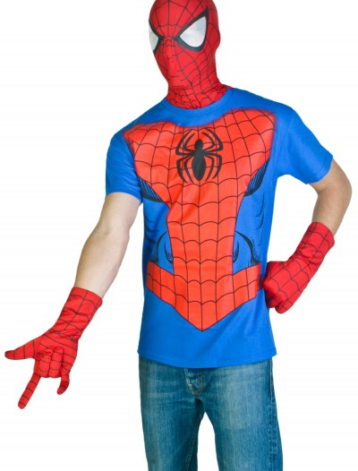 Mens Spiderman Costume T-Shirt buy now