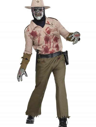 Mens Zombie Sheriff Costume buy now