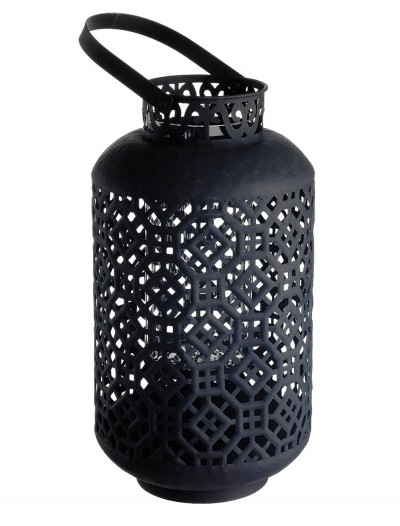 Metal Lantern with Glass Candle Holder buy now