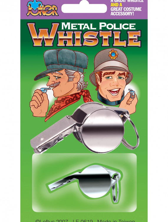 Metal Police Whistle buy now