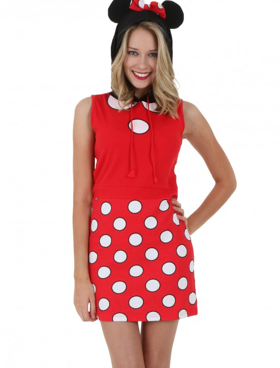 Minnie Mouse Juniors Tunic Sleeveless Hoodie buy now
