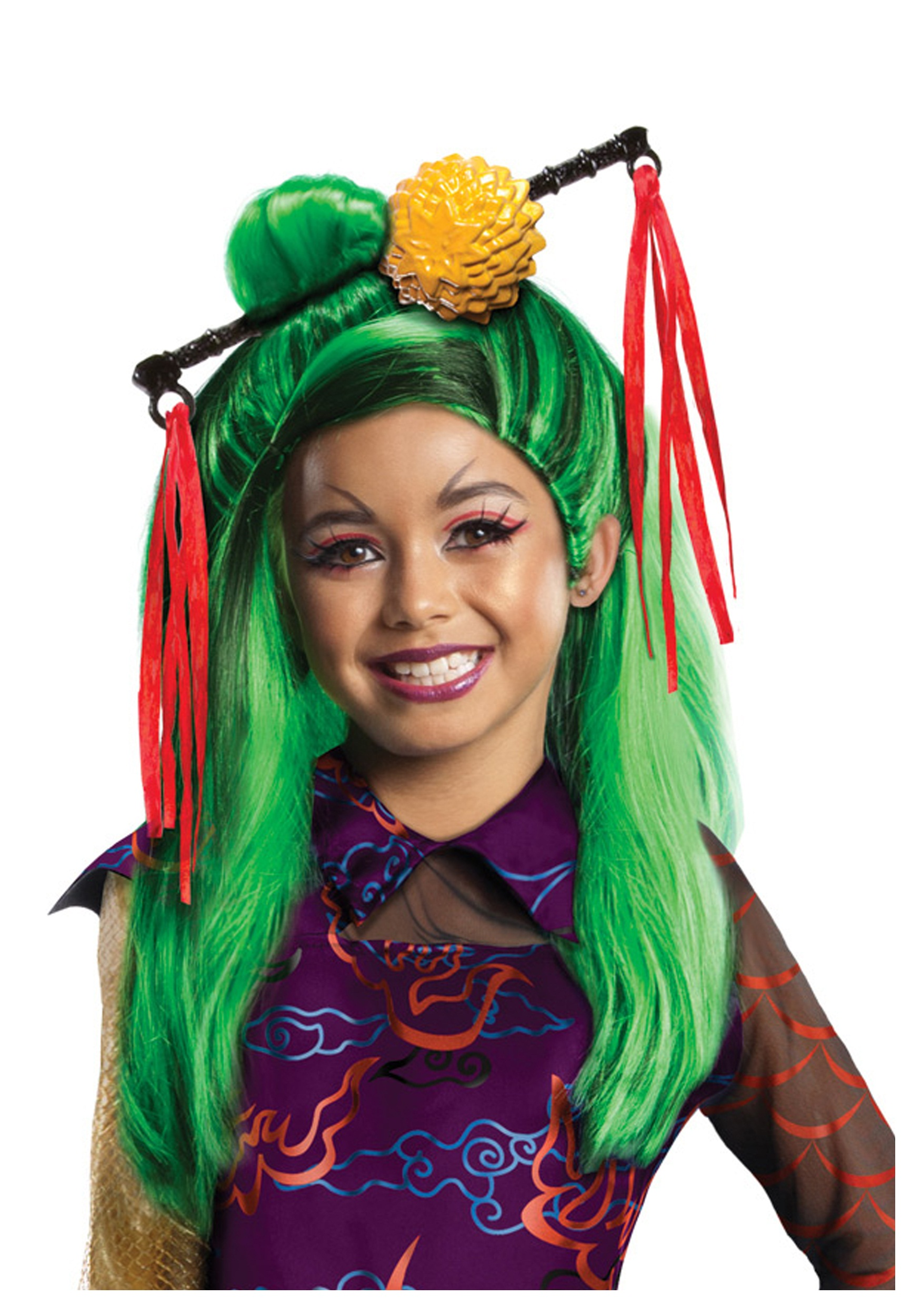 monster high jinafire long child wig - halloween costumes