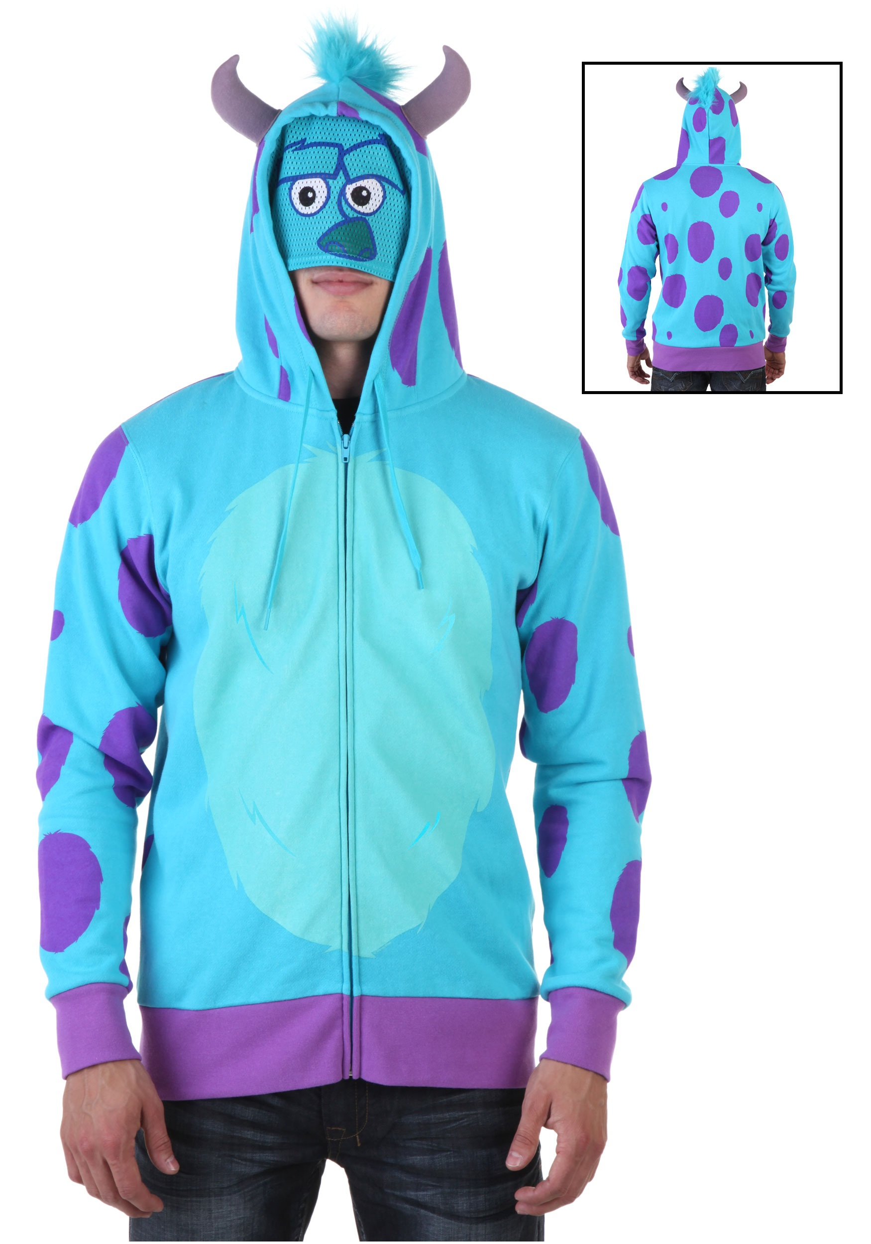 monsters university sulley hoodie - halloween costumes