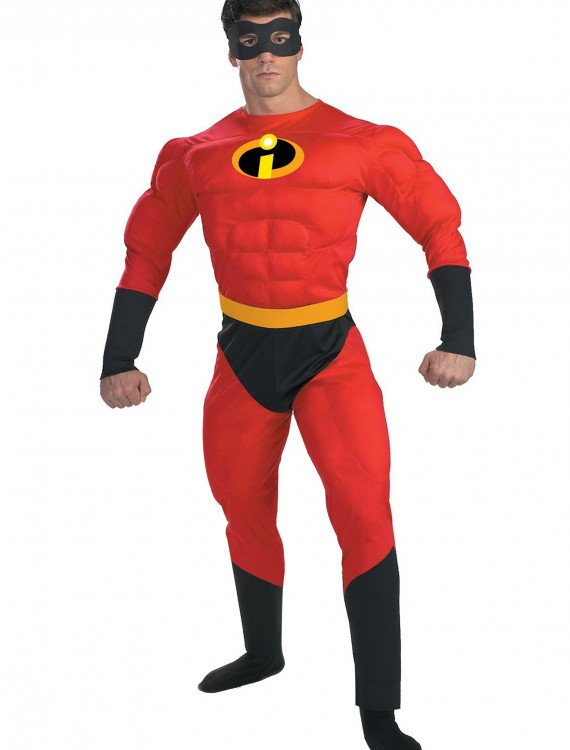 Mr. Incredible Deluxe Muscle Plus Size Costume buy now