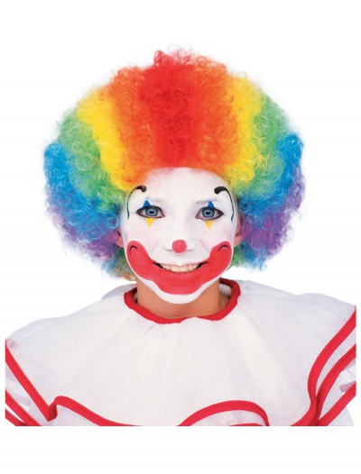 Kids Multi Color Clown Wig buy now