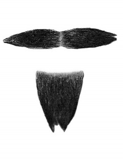 Costume Mustache and Goatee buy now