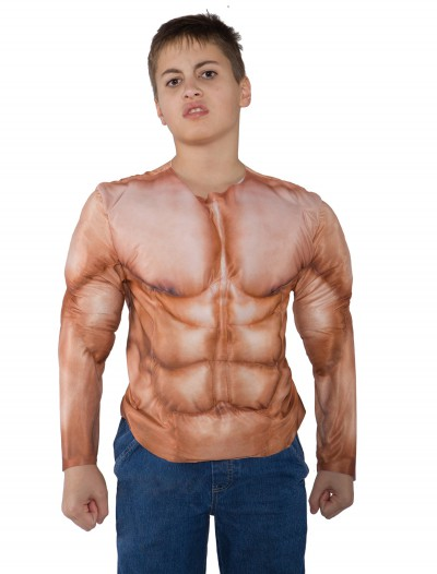 Kid's Padded Muscle Shirt buy now