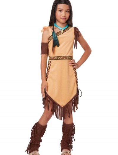 Native American Princess Girl Costume buy now