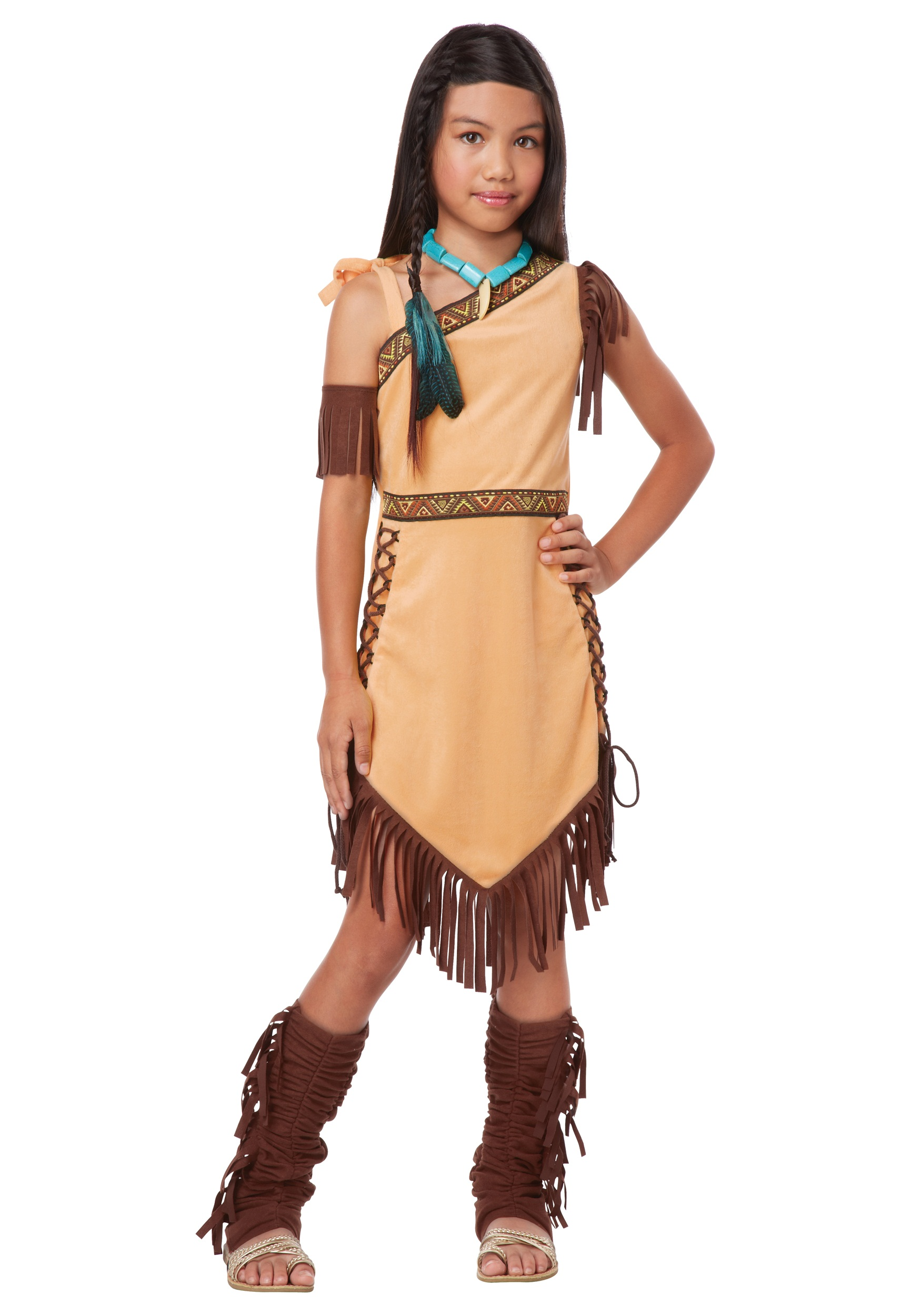 Native American Princess Girl Costume  sc 1 st  Halloween Costumes & Native American Princess Girl Costume - Halloween Costumes