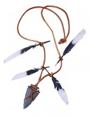 Native Warrior Necklace Arrow Head buy now