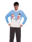 Naughty Snow Couple Christmas Sweater buy now
