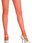 Neon Orange Fishnet Tights buy now