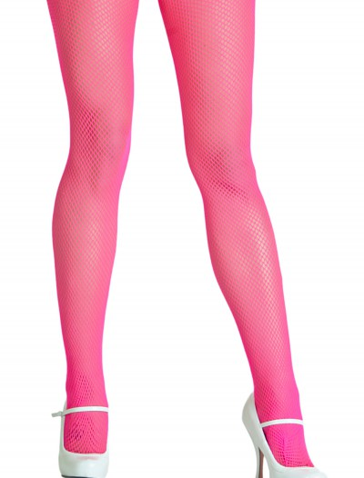 Neon Pink Fishnet Tights buy now