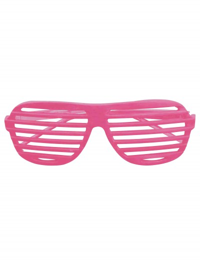 Neon Pink 80s Shades buy now