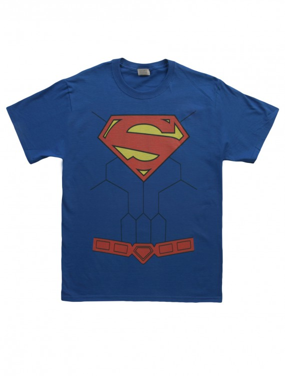 New 52 Torso Superman Costume T-Shirt buy now
