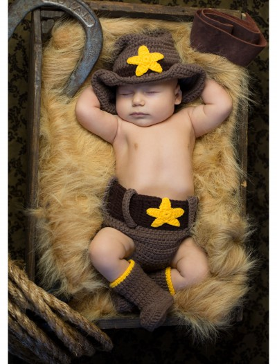 Newborn Cowboy Hat & Diaper Cover buy now