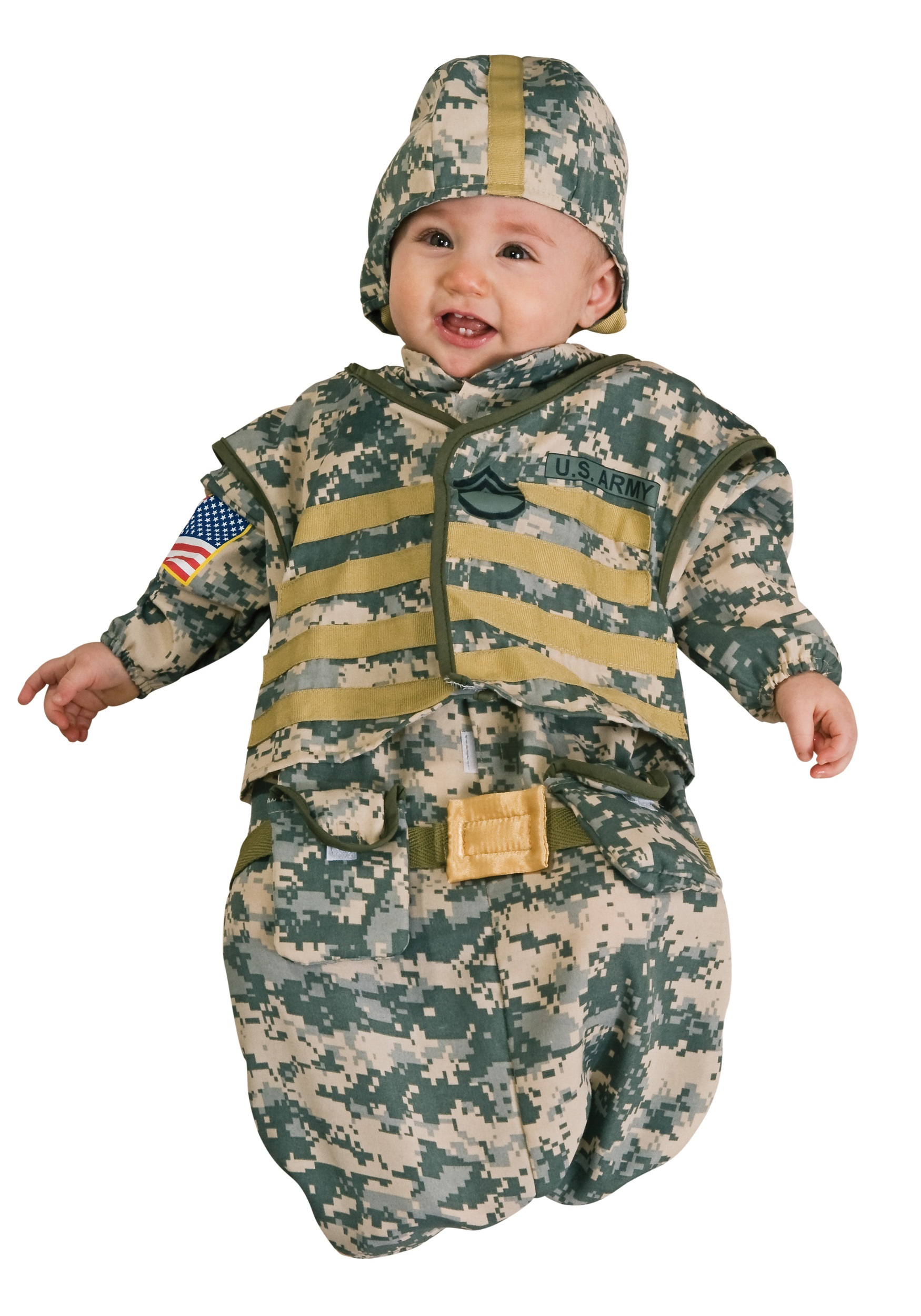 newborn soldier costume - halloween costumes