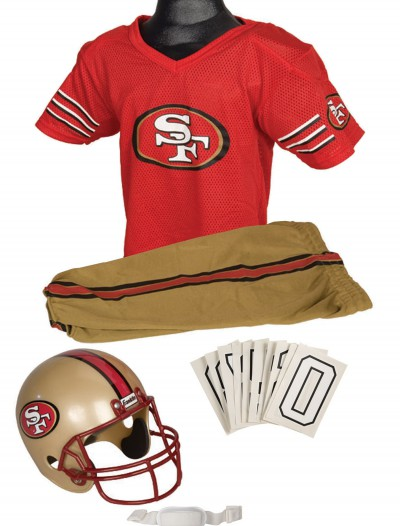 NFL 49ers Uniform Costume buy now
