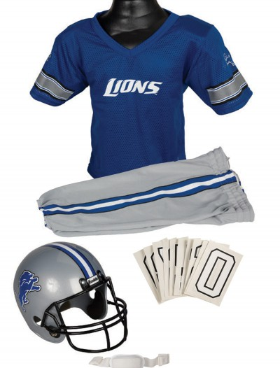 NFL Lions Uniform Costume buy now
