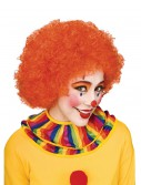 Orange Afro Clown Wig buy now