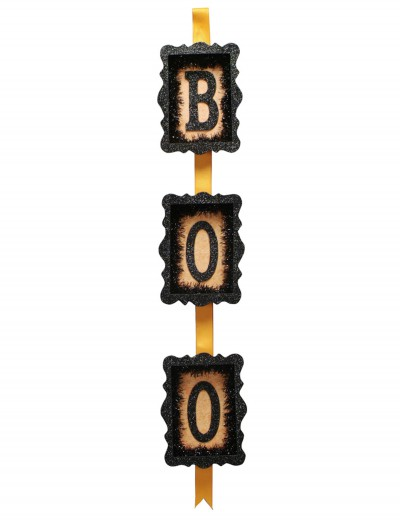 Orange & Black Boo Sign buy now