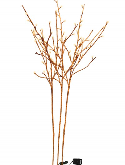 Orange Glitter Twigs buy now