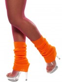 Orange Leg Warmers buy now