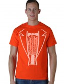Orange Tuxedo Costume T-Shirt buy now