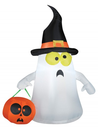 Outdoor Ghost with Witch Hat buy now