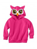 Owl Face Hooded Sweatshirt buy now