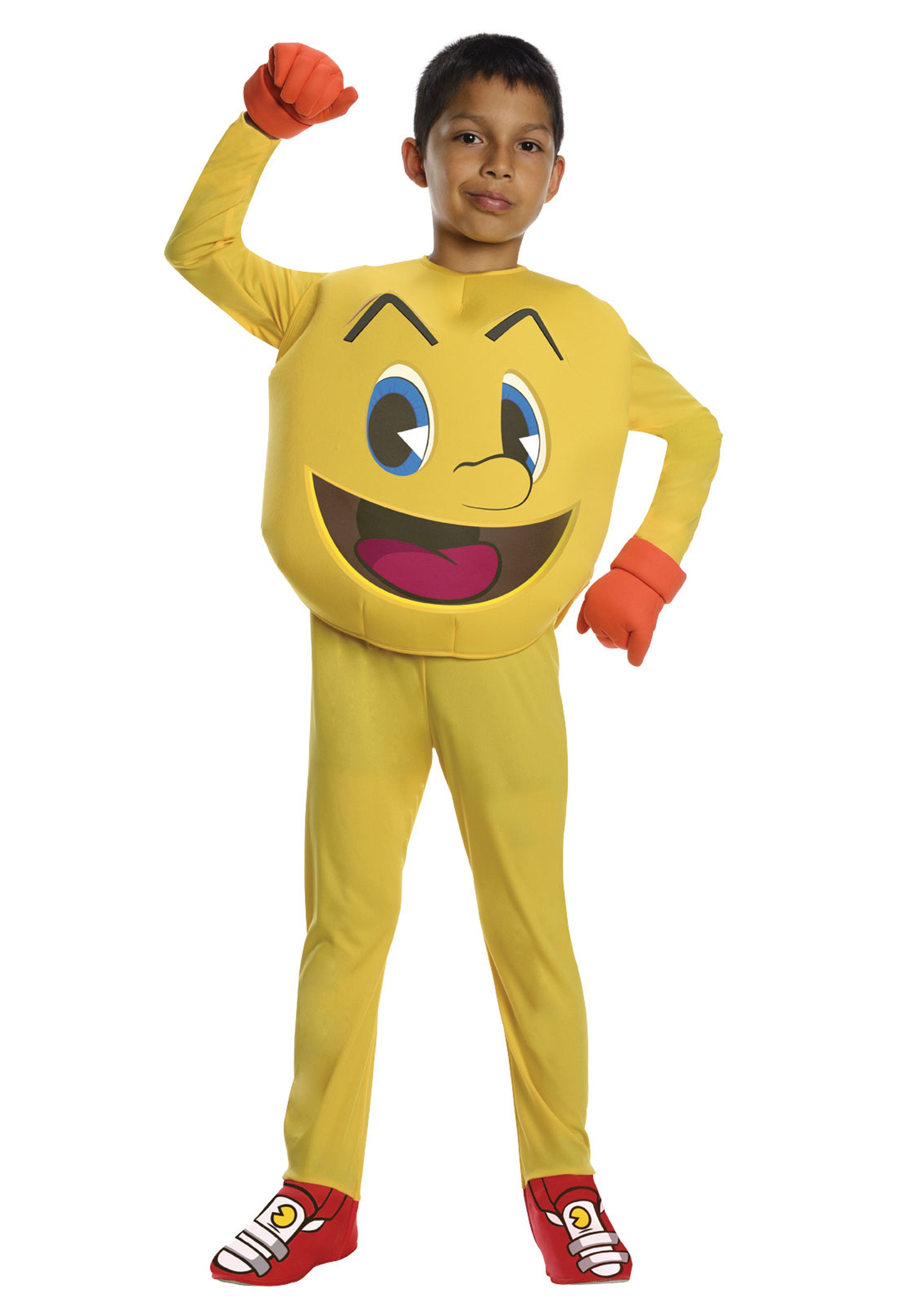 Pac Man Deluxe Child Costume Halloween Costumes