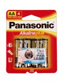 Panasonic Alkaline Plus AA Batteries 4-Pack buy now